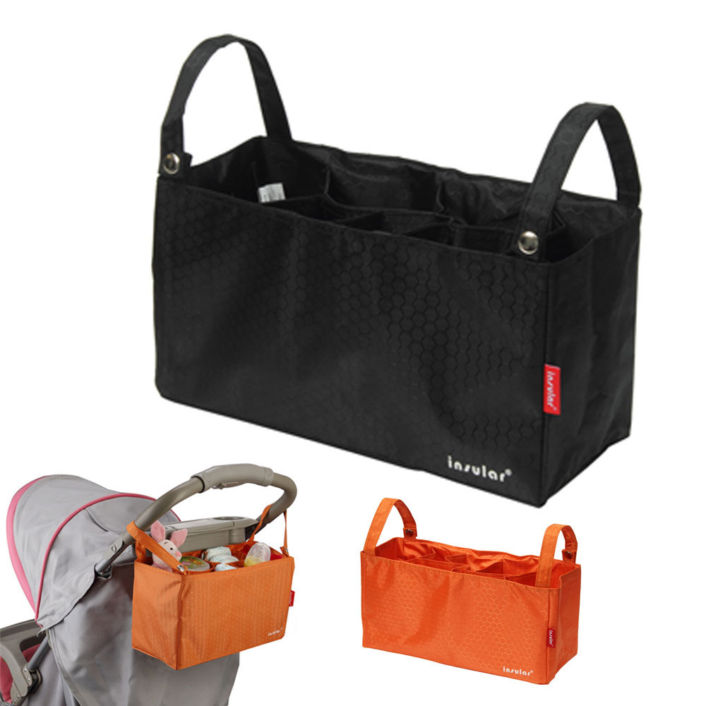 waterproof thermal insulation bags portable mommy bags baby diaper stroller organizer cooler bag. Black Bedroom Furniture Sets. Home Design Ideas