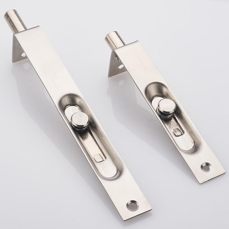 Professional 4 6 Inch Stainless Steel Hidden Door Bolt