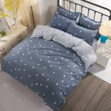 Luxury Bedding Sets 3/4pcs Geometric Pattern Bed Linings Duvet Cover Sheet Pillowcases Set