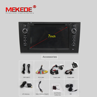 MEKEDE PX3 RK3188 Android 7.1 system car gps navigation DVD player for AUDI A6 1997 2005 Allroad 2000 2006 unit 3g wifi 8G map