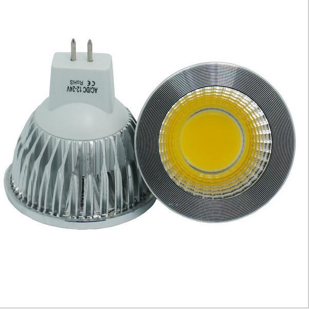 Super deal MR16 COB 9W 12W 15W LED lampa Lampa MR16 12V, varm vit / - LED-belysning