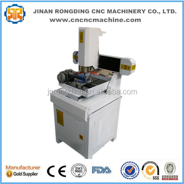 High Performance Mini Cnc Milling Machine With Rotary Device