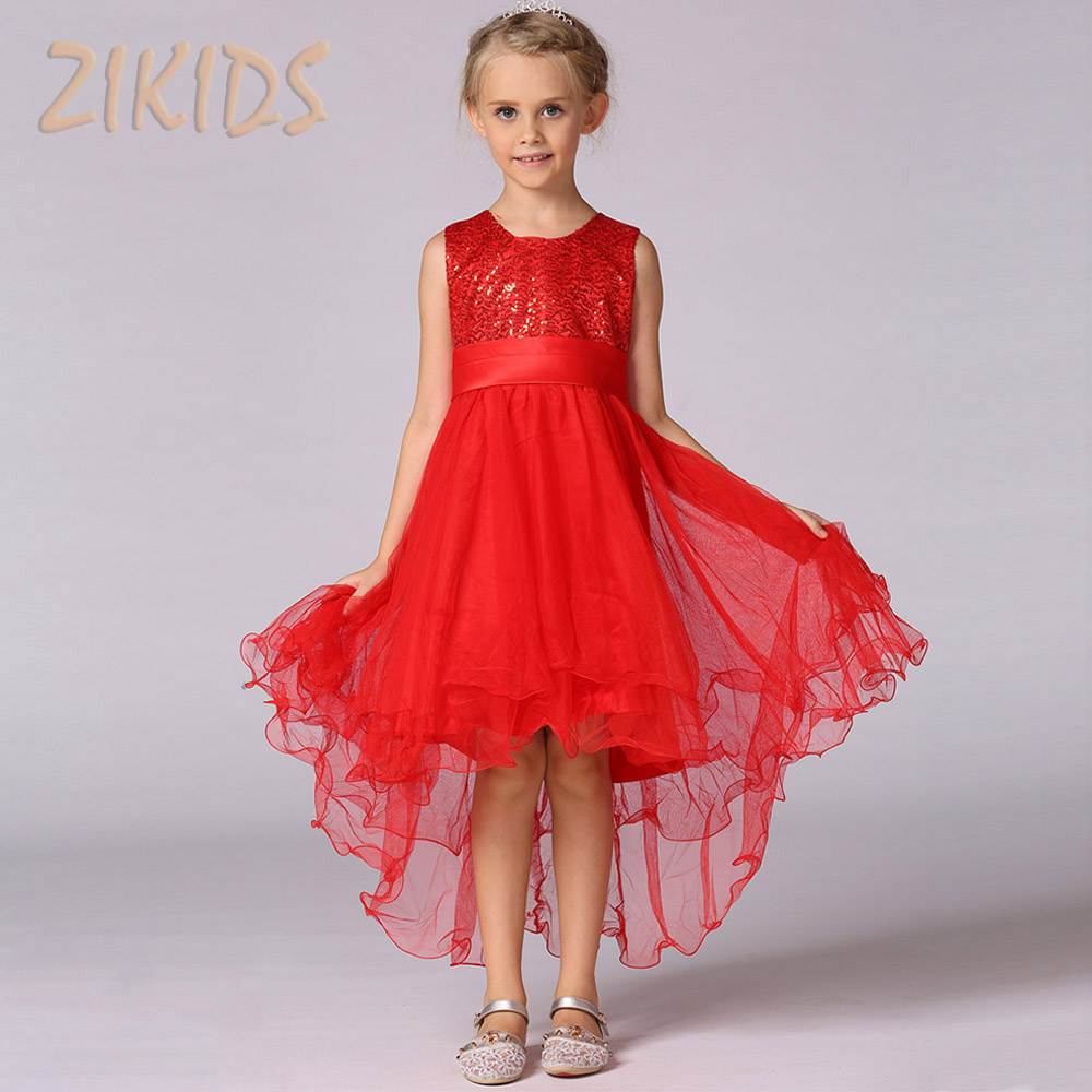 Luxury elegant flowers girls mermaid dresses for wedding for Dresses for afternoon wedding