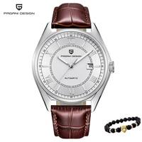 Pagani Classic Mechanical Men Watch luxury waterproof military Automatic Men wristwatch Leather Sport Business Relogio Masculino