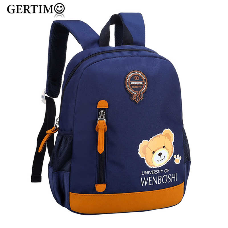 Children Backpack Kindergarten Toddler Baby  kids Cute Cartoon Back pack Bags for Boys Girl School Backpacks;sac a dos enfant