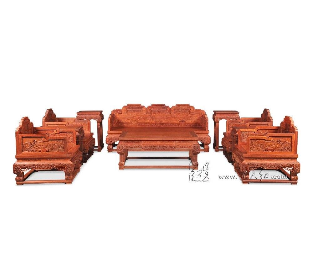 Chinois Royal Meubles De Palissandre Padouk Canap Lit 3 Si Ge  # Meubles En Palissandre