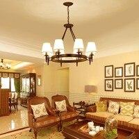 Northern Europe Modern Creative Iron Pendant Light Restaurant Livingroom Bedroom Decoration Lamp Free Shipping