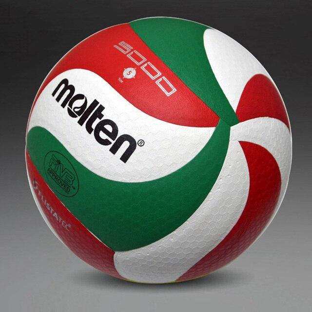 Venta al por menor 2018 nueva marca suave pelota de voleibol táctil, VSM5000, size5 calidad voleibol libre con bolsa de Red + aguja
