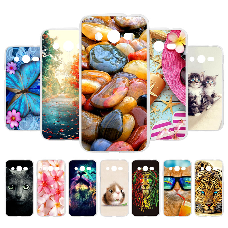 Custom Soft TPU Silicone Case For Samsung Galaxy Core LTE 4G SM-G386F AVANT G386T <font><b>4.5</b></font> <font><b>inch</b></font> G386F G386W SM-G386T Back <font><b>Cover</b></font> image