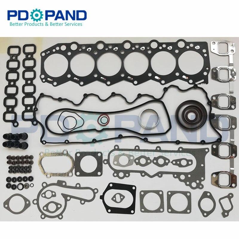 24 V 1HD 1HDT 1HD-T エンジンオーバーホールトヨタ土地クルーザー用再構築/コースター 4200cc 4.2L