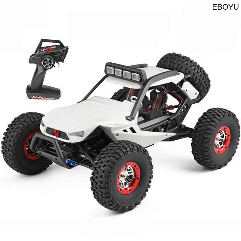 WLToys 12429 RC Auto Rock Off-Road Racing Voertuig RC Crawler Truck 2.4Ghz 4WD Hoge Snelheid 1:12 Radio afstandsbediening Buggy Gift RTF