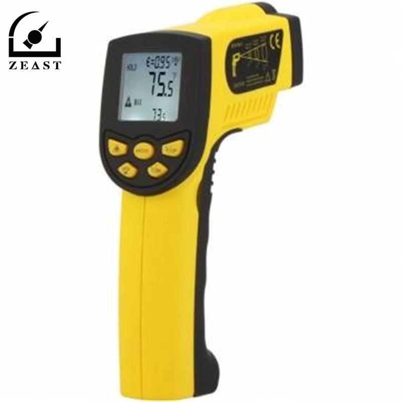 HP-1300 Infrarossi IR Termometro Senza contatto 16: 1 Laser Temperatura onu G Sensore indicatore di Temperatura Meter Range-50 ~ 1300C