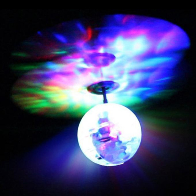 2016 New Fashion Children Flying RC Ball Led Flashing Light Aircraft Helicopter Induction Toy #83761