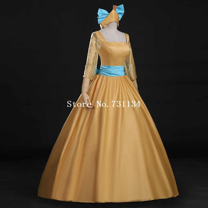 Movie Gowns Cinderella Cosplay Dress Anastasia Cosplay Dress Carriage  Labyrinth Gown-in Dresses from Women s Clothing on Aliexpress.com  ee0b1529b734