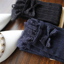 Stockings for Women Bow Tie Medias Long Over the Knee