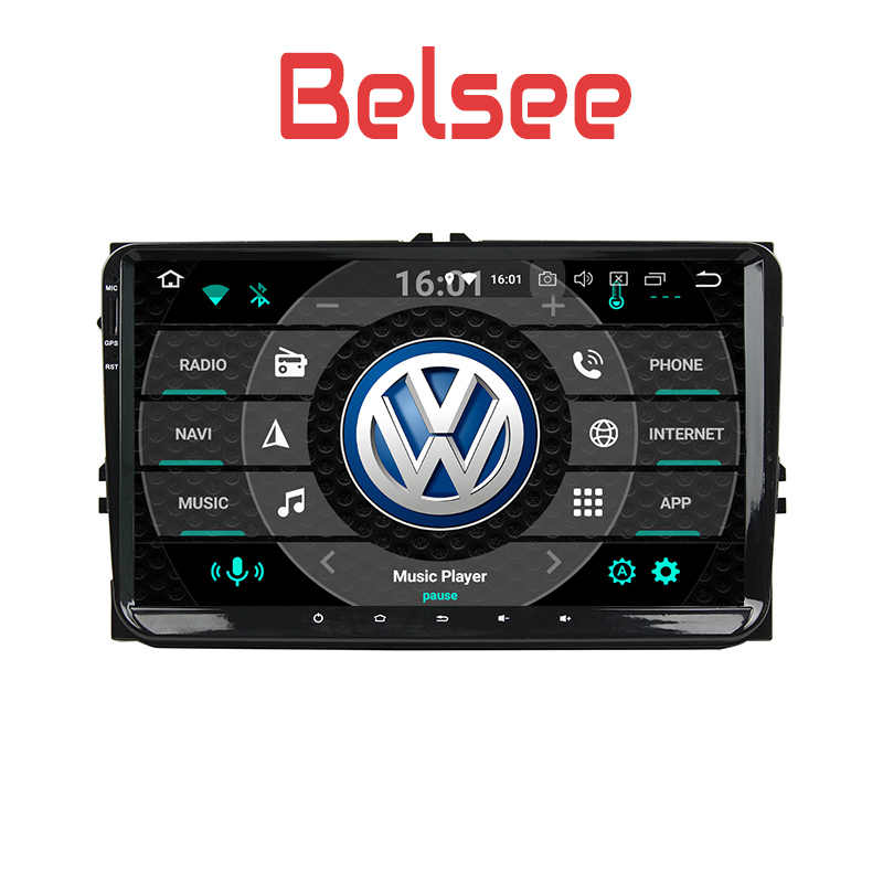 Belsee 2 Din Android 8 0 Car Multimedia Radio Player Navi VW