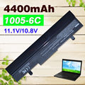 Black  4400mAh Laptop battery for Asus  Eee PC 1001HA 1001P 1001PQ 1005 1005H 1005HA 1005HAB 1005HAG 1005HE 1005HR 1005P 1005PE