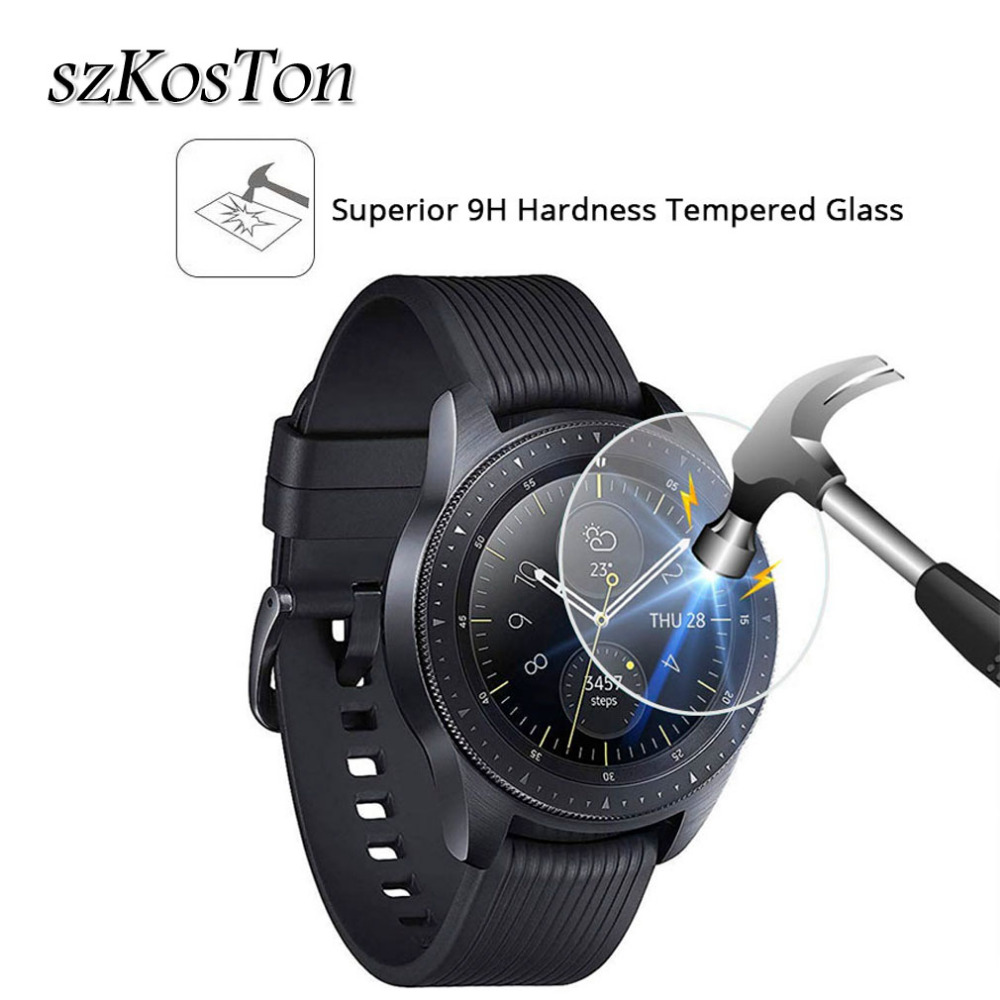 42/46mm Tempered Glass Screen Protector For Samsung Galaxy Watch Anti-Scratch Smartwatch Glass Film Screen Protector Glass Case цена и фото