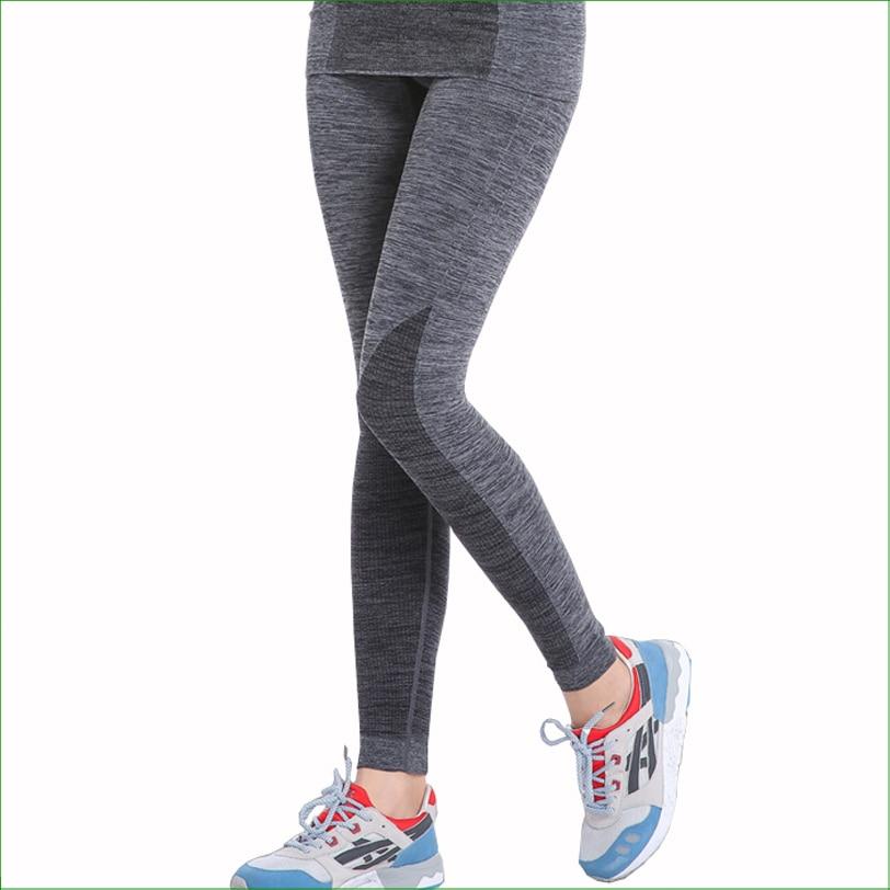 RP09 HOT Women Running Pants Compression Long Pants Running Tights deportiva Women Yoga Sports Tights sports legging
