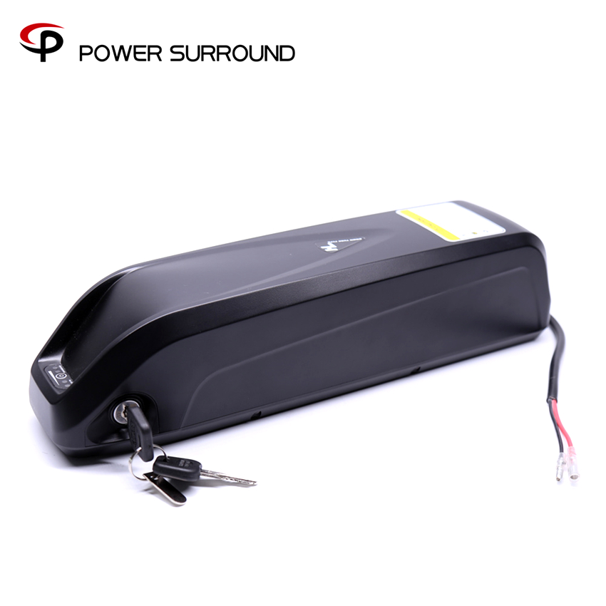 US EU AU No Tax Down Tube 48V 11.6Ah Electric Bike shark battery Lithium Sumsang cell with 25A BMS + 54.6V 2A charger
