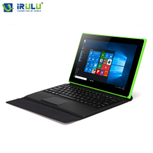 IRULU Original Z8350 Walknbook Windows 10 Tablet PC 1280*800 Intel Quad Core 2 en 1 Portátil de 2 GB + 32 GB 6000 mAh 2MP + 5MP Bluetooth