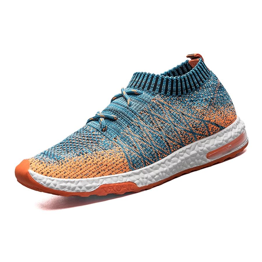 Urbanfind Для мужчин Fly вязки Обувь для человека кроссовок размеры 39–44 мужской моды носок Обувь Дизайнерские повседневные Обувь 2017 мужские летние туфли