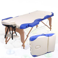 Free Shipping Folding Massage Bed Physiotherapy Massage Table With Bag Bed Wood Beauty Care Bed