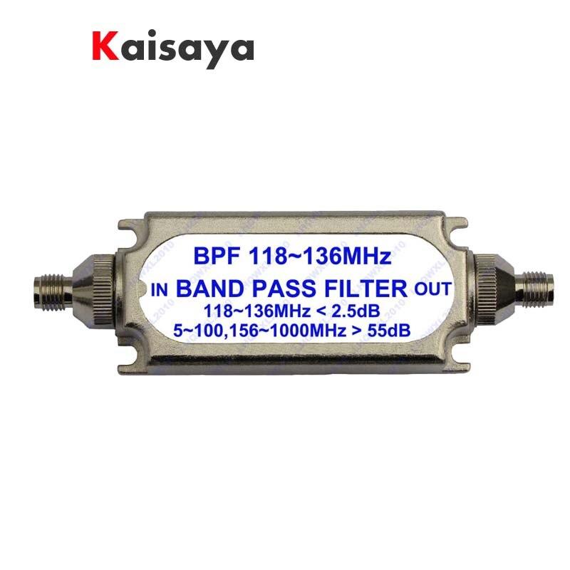 New SMA bandpassfilter BPF 118-136 MHz für luftfahrt band A6-012
