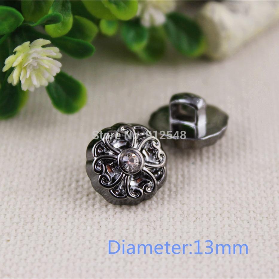 1532648 , 13mm Plastic flower Buttons,50pcs,clothing accessories, DIY handmade materials