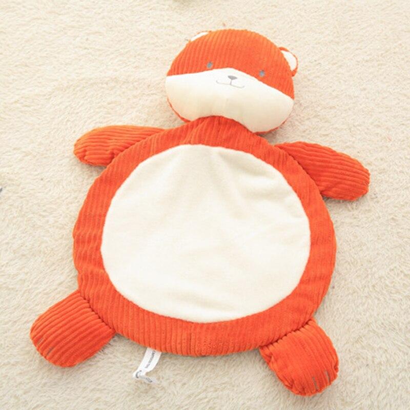 Baby Cartoon Elephant Fox Stuffed Play Mat Animal Toy Shape Sleeping Mat Kids Soft Plush ...
