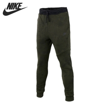 Original New Arrival 2017 NIKE AS M NSW TCH FLC JOGGER AOP Men's Pants Sportswear f