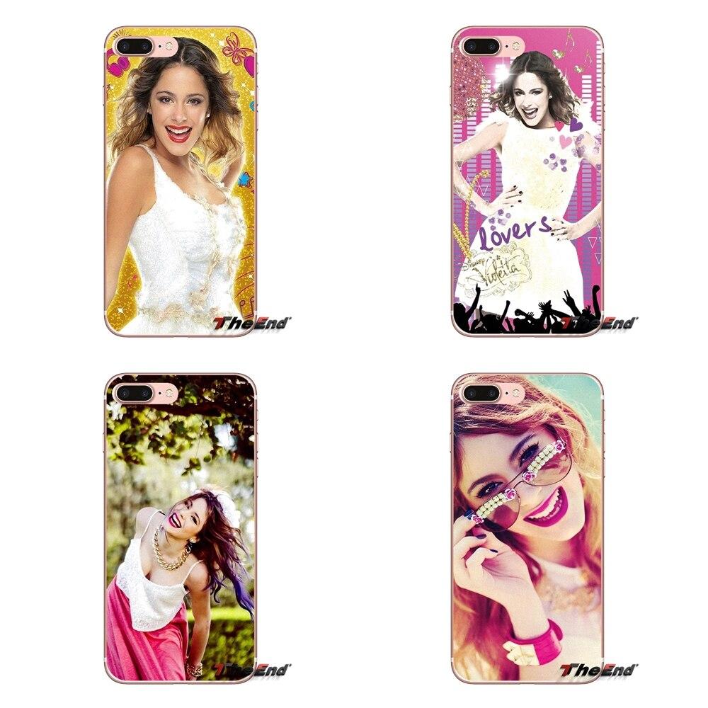 Transparent Soft Cases Covers Beauty Violetta For Samsung Galaxy J1 J2 J3 J5 J7 A3 A5 A7 2015 2016 2017 J330 J530 J730