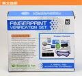 Kits DIY educacional ciência experimento de verificação de impressão digital para criança