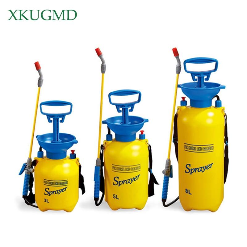 3 5 8L Pressure Sprayer Compressed Air Spray Garden Sprayer Pump Hand Pressure Watering Spray Garden
