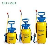 Rociador a presión de 3/5/8L, bomba pulverizadora de aire comprimido para jardín, riego por presión de la mano, riego de jardín, limpieza de coche 2018