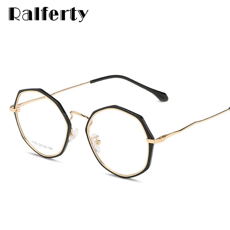 d3fe28da93 Detail Feedback Questions about Ralferty 2018 Irregular Glasses Frame Women  Retro Eyeglasses Frames For Optical Prescription Glasses Eyewear Spectacles  ...