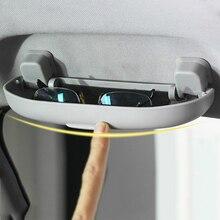 Caja de almacenamiento de gafas de coche funda para Volvo S60 S90 XC90 S80 XC60 V60 V40 Qashqai Renault Koleos FLUENCE Latitude, accesorios para automóviles
