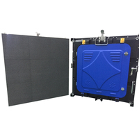 P6 SMD3535 Die Casting Aluminum Rental Outdoor Full Color LED Display Cabinet 576×576mm For Video Wall Stage Advertising Taxi