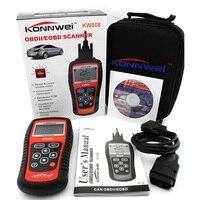 KONNWEI KW808 Universal Car OBDII EOBD Code Reader Scanner OBD2 Diagnosis Scan Tool OBD 2 II PK Maxiscan MS509 ODB ODB2 Scaner