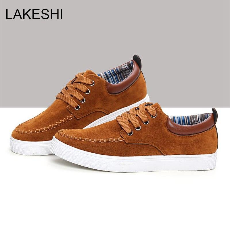 Aliexpress.com : Buy LAKESHI Fashion Men Shoes Brand Mens