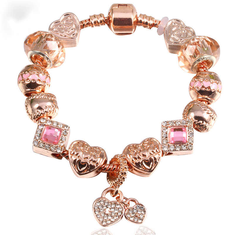 8d59f187d ... TOGORY Dropshipping Handmade DIY Cute Robot Charm Bracelets Murano Glass  Beads fit Pandora Bracelet Women Jewelry