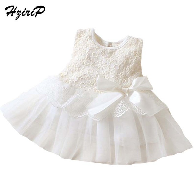 20e219deedc 2018 Spring Summer Baby Dresses Girl Princess Dress Sleeveless Lace Newborn  Baby Girls Party Wedding Dress Baby Clothes 13 Color