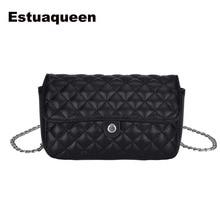 Designer Women Messenger Bags Crossbody Soft PU Leather Shoulder Bag Diamond Lattice Quality Chains Fashion Women Bags Handbags
