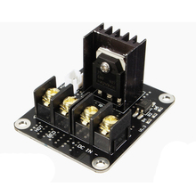 3D Printer Parts General Add-on Heated Bed Power Expansion Module High Power new 3d printer hot bed power expansion board heatbed power module mos tube high current load mini module for anet a8 a6 a2