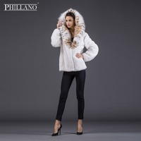 SALE Phillano Premium New Women's Winter Mink Fur Coat White Color Mink Fur Beautiful Fashion Spring Festival Sale