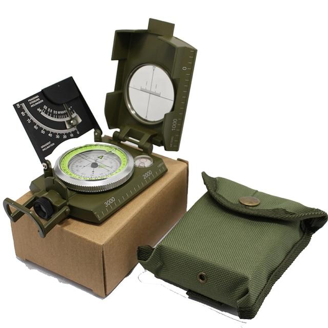 Sobrevivência ao ar livre bússola militar acampamento caminhadas bússola de água geológica bússola digital campismo equipamento navegação