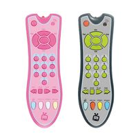 Baby Gift New Music Simulation Mobile Phone TV Remote Control Electric Numbers Learning Educational Kids Toy Random delivery