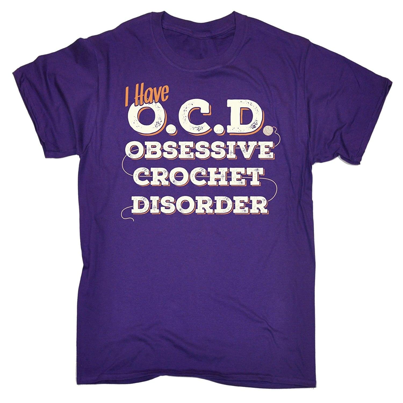 Для мужчин я у O. C. D Obsessive крючком расстройства футболка