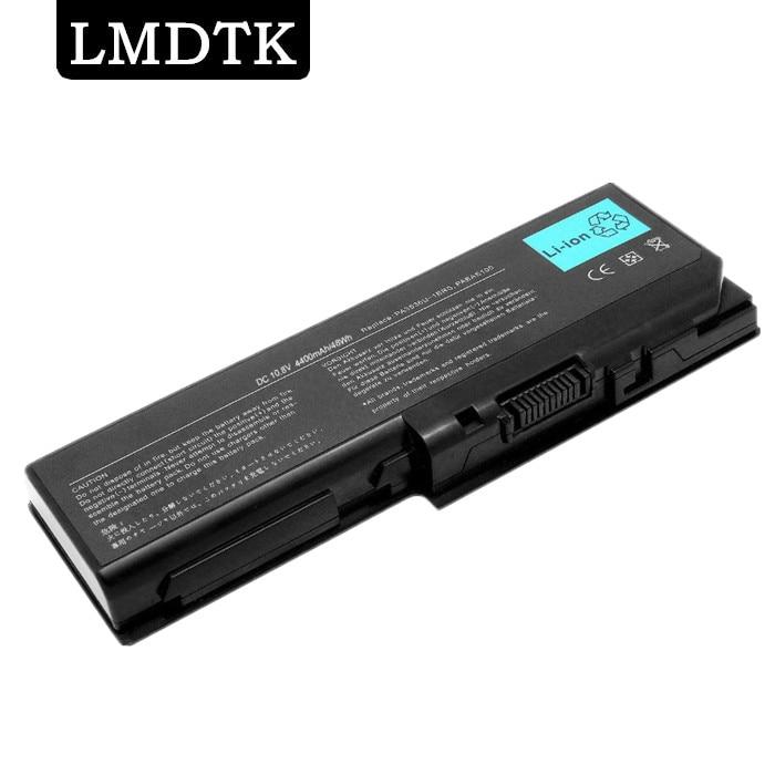 باتری لپ تاپ LMDTK جدید 6 سلولی برای TOSHIBA SatelliteL350 L355 P200 P205 P300 P305 ProP300 SERIES PA3536U-1BRS حمل رایگان