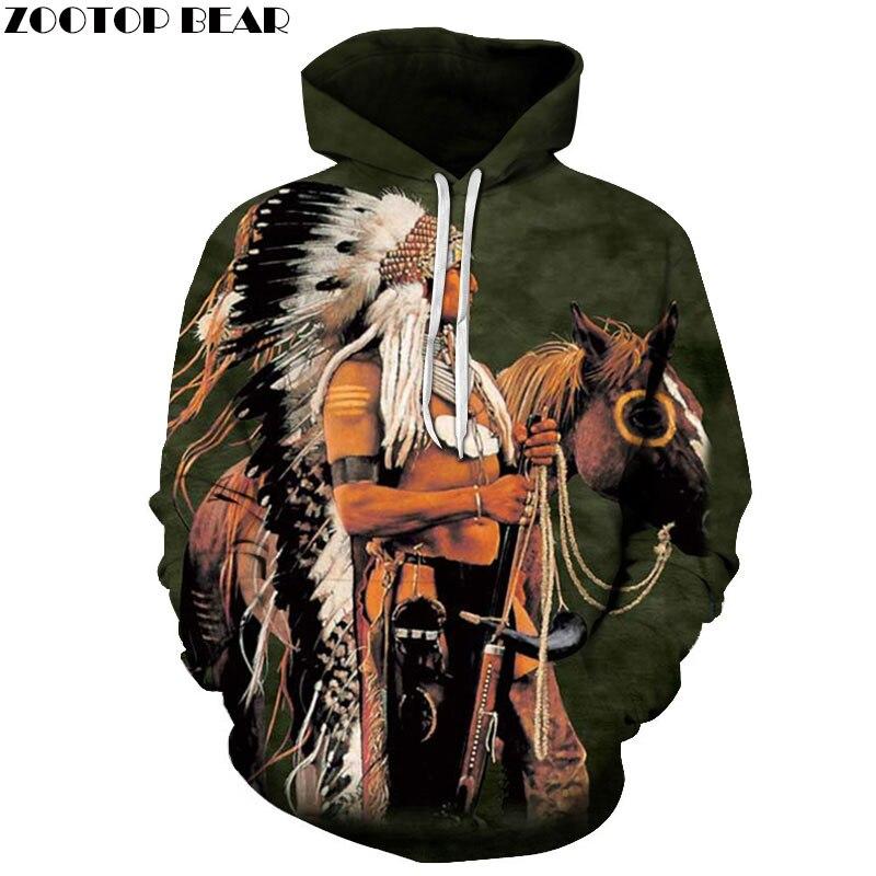 EU Größe Native Gedruckt Sweatshirts Vintage Hoodies 3D Hoody Männer Frauen Trainingsanzüge Herbst Mantel Pullover Streetwear Mantel Dropship